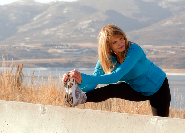 Baby boomer fitness expert Kathy Smith is interviewed by The